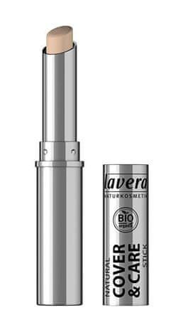 Lavera Természetes merev korrektor 1,7 g (árnyalat 01 slonová kost)