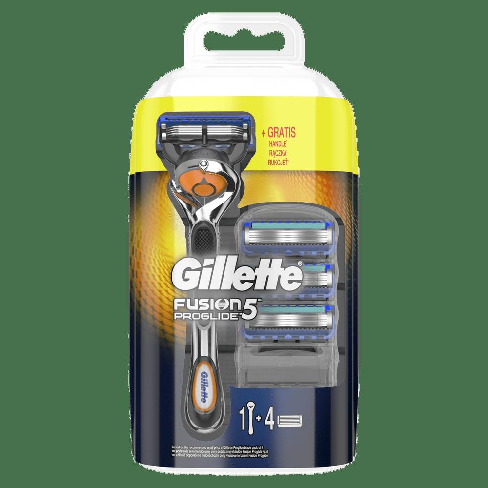 Gillette Fusion ProGlide Holicí strojek + 4 holicí hlavice