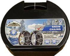 MAMMOOTH Sněhové řetězy E9/70, křížový vzor, 1 pár, pro osobní vozidla