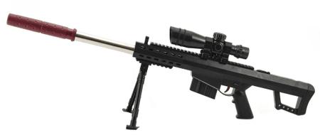 Teddies 72 cm-es összecsukható pisztoly puha víz golyókkal