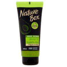 Nature Box Přírodní tělový peeling Avocado Oil (Body Scrub) 200 ml