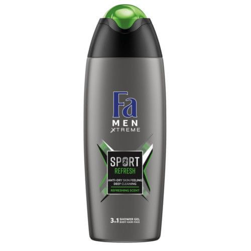 Fa Sprchový gel Men Xtreme Sport Refresh (3in1 Shower Gel) 400 ml