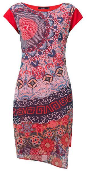 Desigual Dámské šaty Vest Japan Rojo Roja 19SWVWBU 3061 (Velikost 38) 6ca83d7f3f
