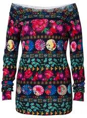 Desigual Női pulóver Jers Nedeerman Marino 19SWJFA2 5001