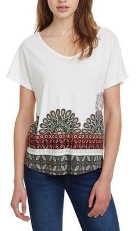 Desigual Dámské triko TS Uma Blanco 19SWTKA3 1000 (Velikost XL ... 6752c00baa
