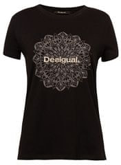 Desigual Dámske tričko TS Manchester Negro 19SWTK41 2000