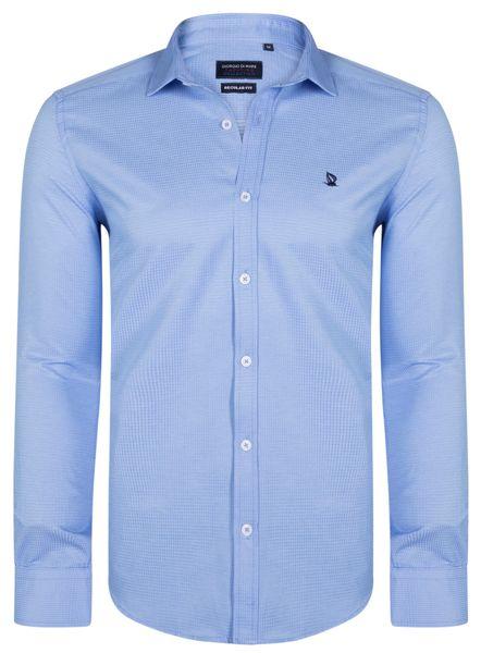 a4717f0f212 Giorgio Di Mare pánská košile GI4519464 L světle modrá