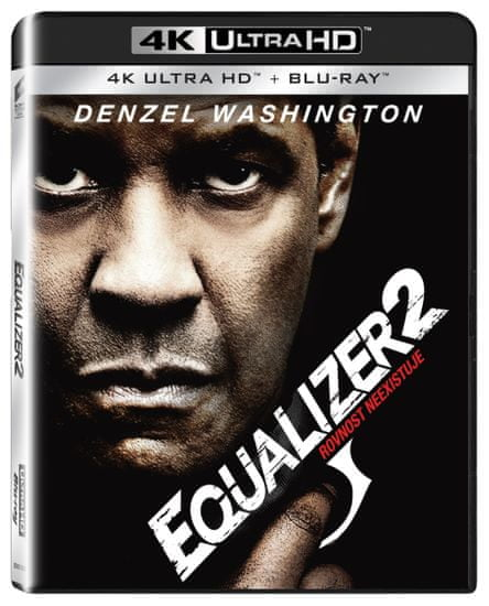 Equalizer 2 (2 disky) - Blu-ray + 4K Ultra HD