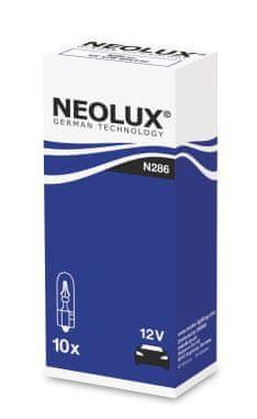 NEOLUX Žárovka typ W1,2W, Standard 1,20W, 12V, W2x4.6d, (karton 10 ks)