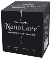 White Pearl prašek za beljenje zob z aktivnim ogljem NanoCare Silver Charcoal