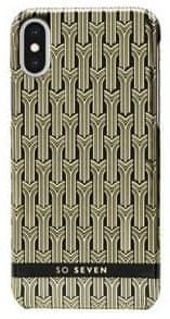 SO SEVEN Fashion Paris Black/Gold Cover iPhone X/XS SSBKC0007