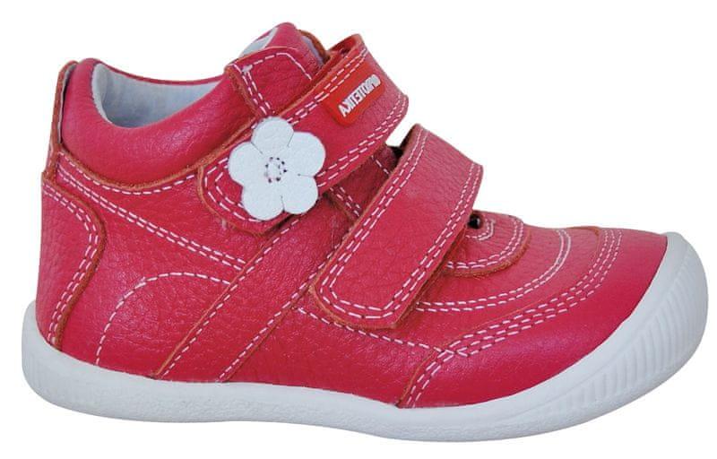 Protetika dívčí kotníkové boty Agnes 26 červená
