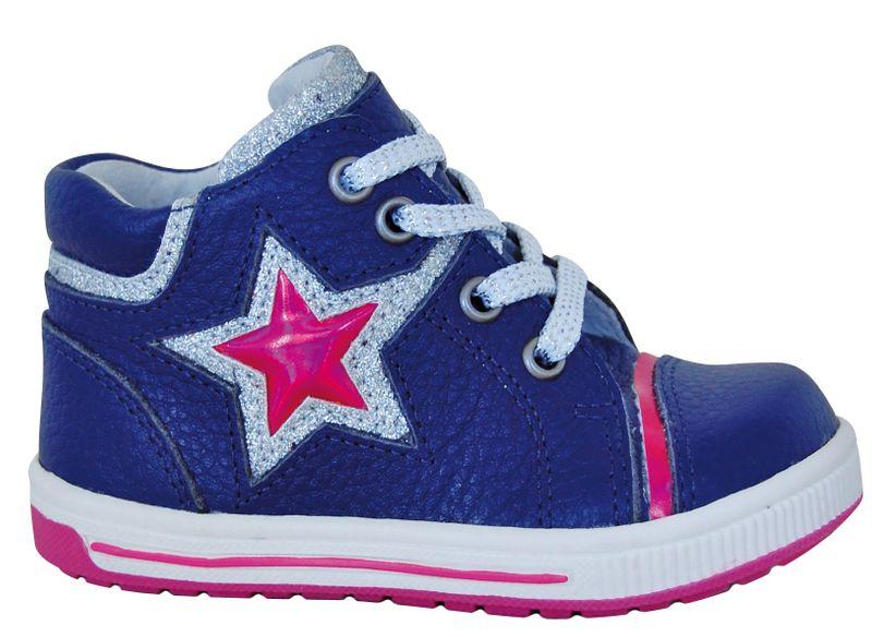 Protetika dívčí kotníkové boty Star 26 modrá