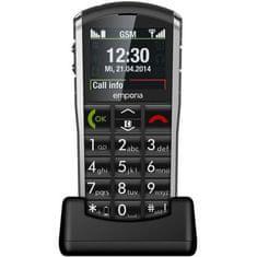 Emporia GSM telefon Pure V25 + poklon: Sony USB 3.0 ključ, 32GB