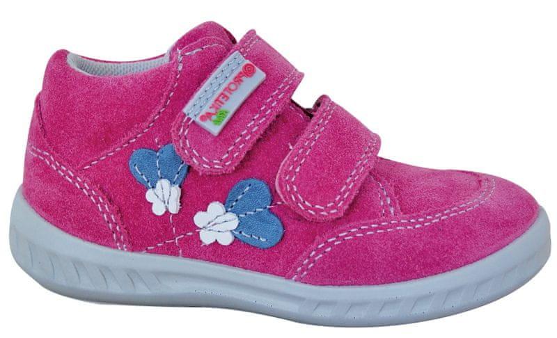Protetika dívčí kotníkové boty Rory 26 růžová