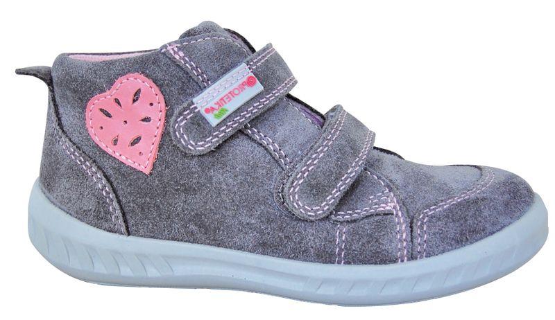 Protetika dívčí kotníkové boty Amelia 30 šedá 65d8426e7d