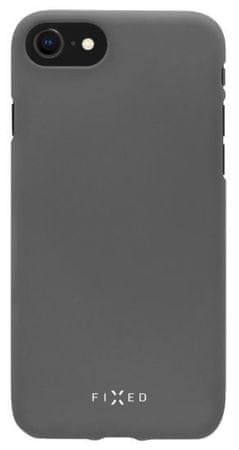 Fixed Zadní silikonový kryt Story pro Apple iPhone 7/8, šedý FIXST-100-GR