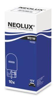 NEOLUX Žárovka typ W21W, Standard 21W, 12V, W3x16d, (karton 10 ks)