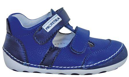 Protetika chlapecké barefoot sandály Flip 19 plava