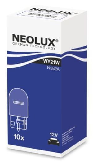 NEOLUX Žárovka typ WY21W, Standard 21W, W3x16d, (karton 10 ks)
