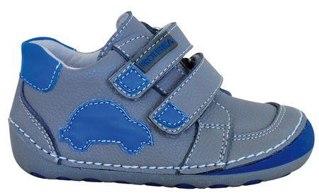 Protetika chlapecké kotníkové barefoot boty Levis 23 šedá  a9bfbef2f6