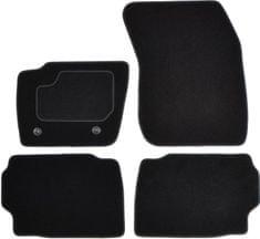 MAMMOOTH Koberce textilní, Ford Mondeo V od 09.2014, černé, sada 4 ks