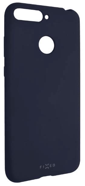 Fixed Zadní silikonový kryt Story pro Honor 7A, modrý FIXST-298-BL