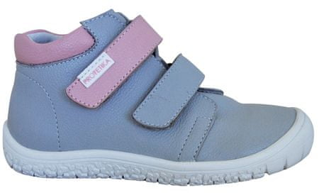 a0643fb4dbd Protetika dívčí kotníkové barefoot boty Margo 27 šedá