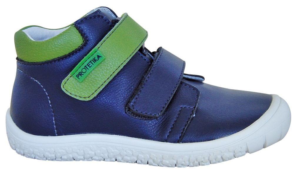 939a457dc Protetika chlapecké kotníkové barefoot boty Margo 32 modrá