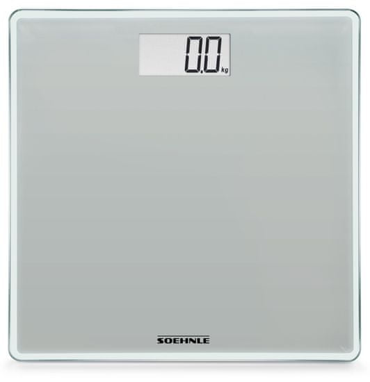 Soehnle digitalna osobna vaga Style Sense Compact Stone Grey, siva