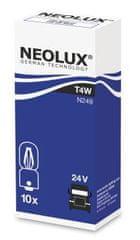NEOLUX Žárovka typ T4W, Standard 4W, 24W, BA9s (karton 10 ks)