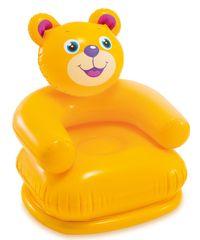 Intex 68556 Křeslo nafukovací zvířátko - Medvídek