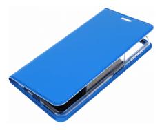 Dux Ducis preklopna torbica Samsung Galaxy J4 Plus 2018 J415, svetlo modra