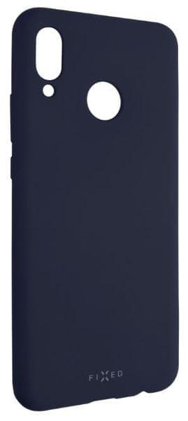 Fixed Zadní silikonový kryt Story pro Huawei Nova 3, modrý FIXST-333-BL