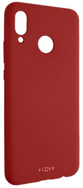 Fixed Zadní silikonový kryt Story pro Huawei Nova 3, červený FIXST-333-RD