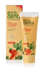 Ecodenta truskawkowa pasta do zębów dla dzieci - 75 ml