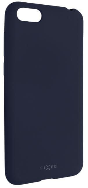 Fixed Zadní silikonový kryt Story pro Huawei Y5 (2018), modrý FIXST-307-BL