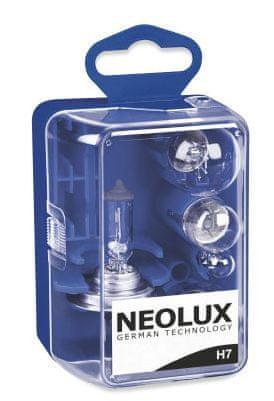 NEOLUX Sada náhradních žárovek Mini Box H7, 12V (sada 5 ks)