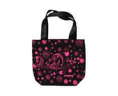 Albi Plátěná taška s růžovými květy