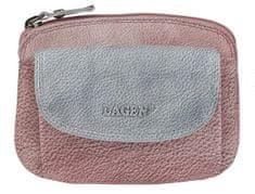 Lagen Női bőr pénztárca 786-382 szilva Silver