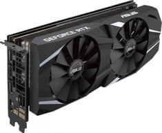 Asus grafična kartica DUAL Advanced GeForce RTX 2070, 8 GB GDDR6 (DUAL-RTX2070-A8G)
