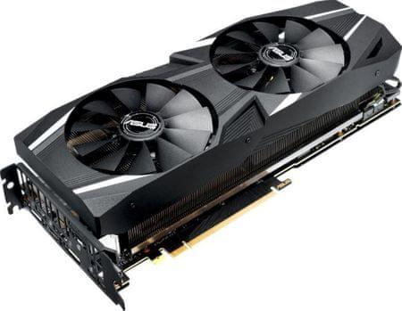Asus grafična kartica DUAL OC Edition GeForce RTX 2070, 8 GB GDDR6