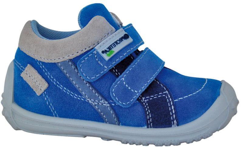 751a38ea227f Protetika chlapecké kotníkové tenisky Kolin 23 modrá