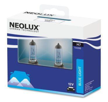NEOLUX Žárovka typ H7, Blue Light 55W, 12V, PX26d