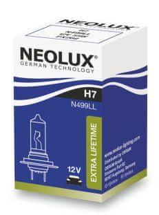 NEOLUX Žárovka typ H7, Extra Lifetime 55W, 12V, PX26d