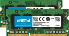 Crucial Pomnilnik (RAM) za PC in Mac SODIMM DDR3 8GB Kit (2x 4) PC3-10600 1333MHz CL9