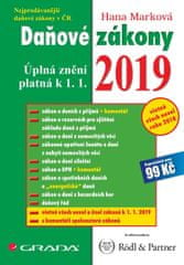 Marková Hana: Daňové zákony 2019 - Úplná znění k 1. 1. 2019