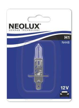 NEOLUX Žárovka typ H1, Standard 55W, 12V, P14.5s (blistr)