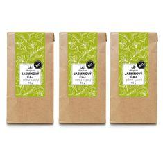 Allnature Jasmínový čaj zelený sypaný BIO 50 g 3 ks