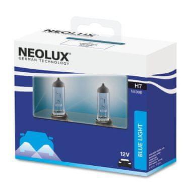 NEOLUX Žárovka typ H7, Blue Light 55W, 12V, PX26d (sada 2 ks)